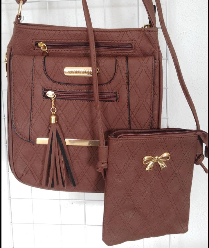 Bolsa dama vinil incluye bolsa pequeña