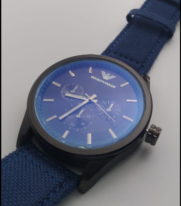 Reloj clon Emporio Armani azul