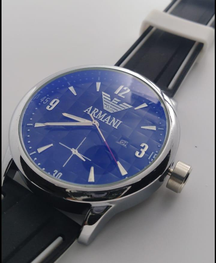 Reloj clon Armani azul