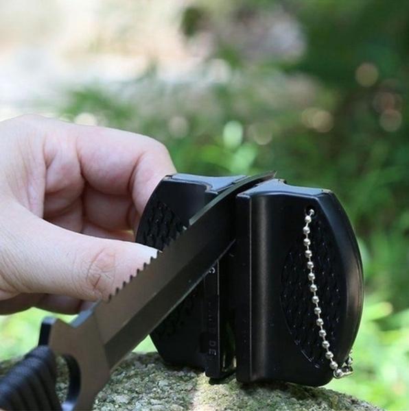 Afilador de cuchillos de cocina miniatura